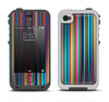 The Vivid Multicolored Stripes Apple iPhone 4-4s LifeProof Fre Case Skin Set