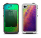 The Vivid Neon Colored Texture Apple iPhone 4-4s LifeProof Fre Case Skin Set