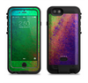 the vivid neon colored texture  iPhone 6/6s Plus LifeProof Fre POWER Case Skin Kit
