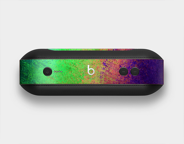 The Vivid Neon Colored Texture Skin Set for the Beats Pill Plus