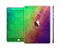 The Vivid Neon Colored Texture Full Body Skin Set for the Apple iPad Mini 3