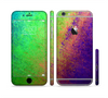 The Vivid Neon Colored Texture Sectioned Skin Series for the Apple iPhone 6 Plus