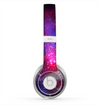 The Vivid Pink Galaxy Lights Skin for the Beats by Dre Solo 2 Headphones