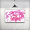 Vivid_Pink_Hello_Summer_Stretched_Wall_Canvas_Print_V2.jpg