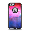 The Vivid Pink and Blue Space Apple iPhone 6 Otterbox Defender Case Skin Set