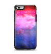 The Vivid Pink and Blue Space Apple iPhone 6 Otterbox Symmetry Case Skin Set