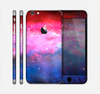 The Vivid Pink and Blue Space Skin for the Apple iPhone 6 Plus