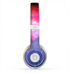 The Vivid Pink and Blue Space Skin for the Beats by Dre Solo 2 Headphones