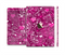 The Vivid Pink and White Paisley Birds Full Body Skin Set for the Apple iPad Mini 3