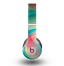 The Vivid Turquoise 3D Wave Pattern Skin for the Beats by Dre Original Solo-Solo HD Headphones