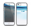 The Vivid Water Layers Skin Set for the iPhone 5-5s Skech Glow Case