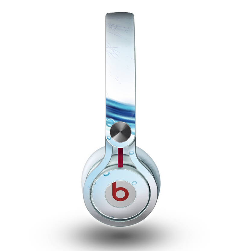 The Vivid Water Layers Skin for the Beats by Dre Mixr Headphones