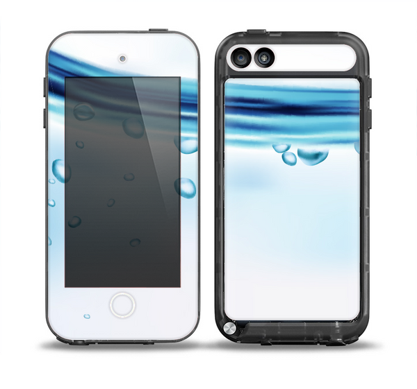 The Vivid Water Layers Skin for the iPod Touch 5th Generation frē LifeProof Case
