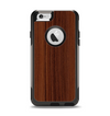 The Walnut WoodGrain V3 Apple iPhone 6 Otterbox Commuter Case Skin Set