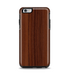 The Walnut WoodGrain V3 Apple iPhone 6 Plus Otterbox Symmetry Case Skin Set