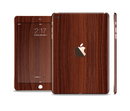 The Walnut WoodGrain V3 Full Body Skin Set for the Apple iPad Mini 3
