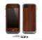 The Walnut WoodGrain V3 Skin for the Apple iPhone 5c LifeProof Case