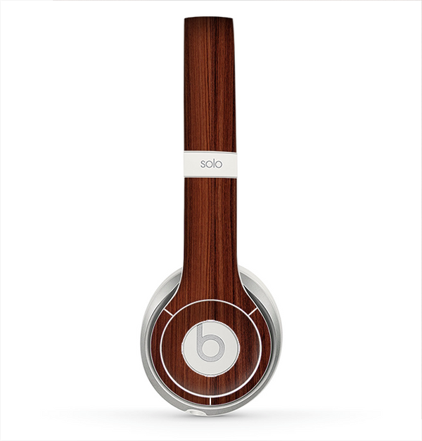 The Walnut WoodGrain V3 Skin for the Beats by Dre Solo 2 Headphones