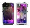 The Warped Neon Color-Splosion Apple iPhone 4-4s LifeProof Fre Case Skin Set