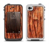 The Warped Wood Apple iPhone 4-4s LifeProof Fre Case Skin Set