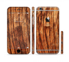 The Warped Wood Sectioned Skin Series for the Apple iPhone 6