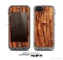 The Warped Wood Skin for the Apple iPhone 5c LifeProof Case