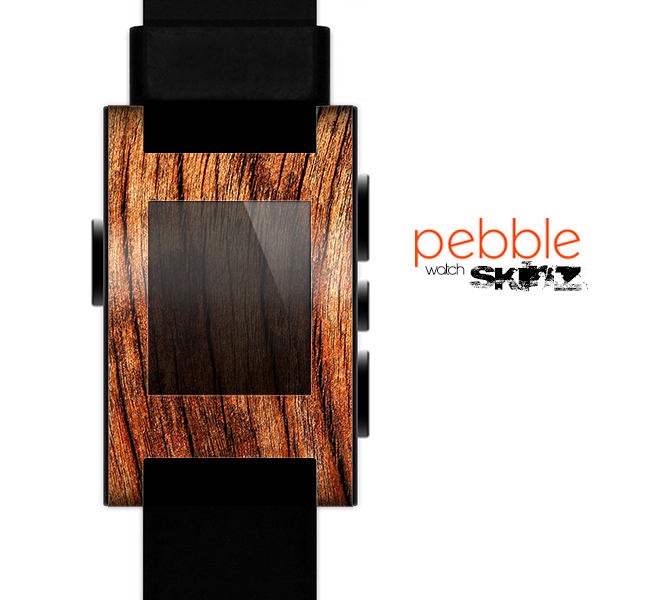 The Warped Wood Skin for the Pebble SmartWatch