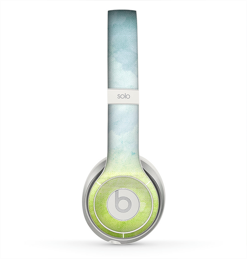 The Water-Color Painting of Meadow Skin for the Beats by Dre Solo 2 Headphones