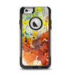 The WaterColor Grunge Setting Apple iPhone 6 Otterbox Commuter Case Skin Set
