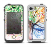 The WaterColor Vivid Tree Apple iPhone 4-4s LifeProof Fre Case Skin Set