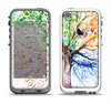 The WaterColor Vivid Tree Apple iPhone 5-5s LifeProof Fre Case Skin Set