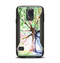 The WaterColor Vivid Tree Samsung Galaxy S5 Otterbox Commuter Case Skin Set