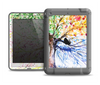 The WaterColor Vivid Tree Apple iPad Air LifeProof Fre Case Skin Set