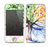 The WaterColor Vivid Tree Skin for the Apple iPhone 4-4s