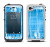 The Water Color Ice Window Apple iPhone 4-4s LifeProof Fre Case Skin Set