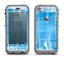 The Water Color Ice Window Apple iPhone 5c LifeProof Nuud Case Skin Set