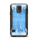 The Water Color Ice Window Samsung Galaxy S5 Otterbox Commuter Case Skin Set