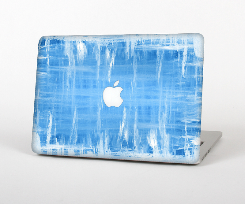 "The Water Color Ice Window Skin Set for the Apple MacBook Pro 15"" with Retina Display"