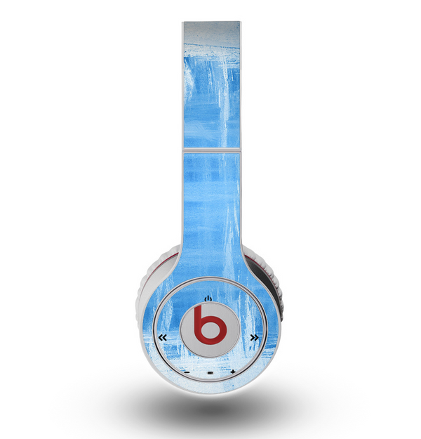 The Water Color Ice Window Skin for the Original Beats by Dre Wireless Headphones