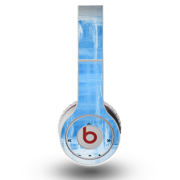 The Water Color Ice Window Skin For The Original Beats By Dre Wireless Designskinz
