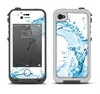 The Water Splashing Wave Apple iPhone 4-4s LifeProof Fre Case Skin Set