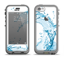 The Water Splashing Wave Apple iPhone 5c LifeProof Nuud Case Skin Set