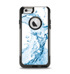The Water Splashing Wave Apple iPhone 6 Otterbox Commuter Case Skin Set