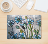 "The Watercolor Blue Vintage Flowers Skin Kit for the 12"" Apple MacBook"