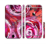 The Watercolor Bright Pink Floral Sectioned Skin Series for the Apple iPhone 6 Plus