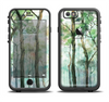 The Watercolor Glowing Sky Forrest Apple iPhone 6 LifeProof Fre Case Skin Set