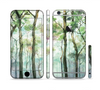 The Watercolor Glowing Sky Forrest Sectioned Skin Series for the Apple iPhone 6 Plus