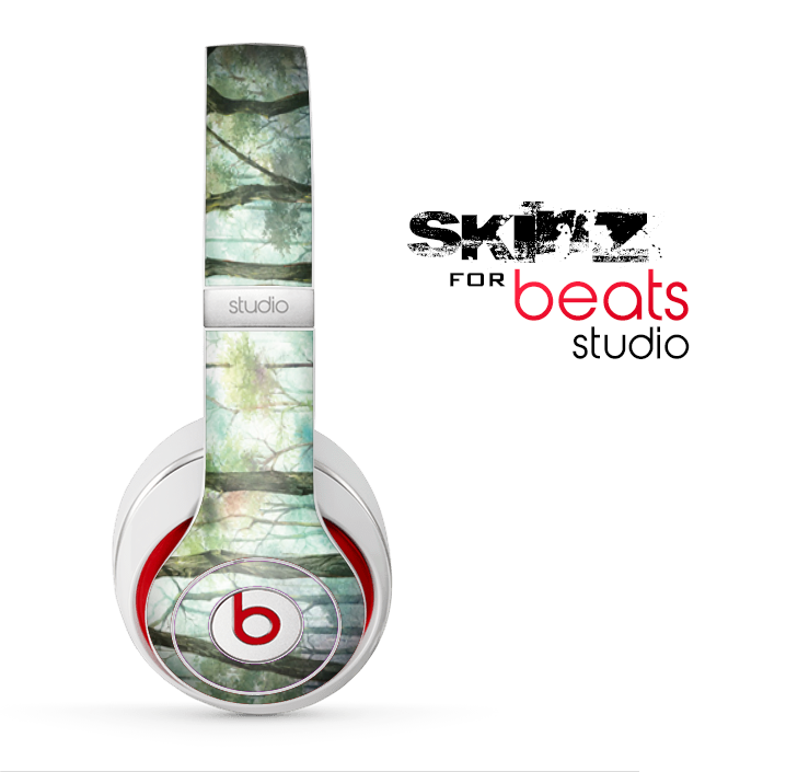 The Watercolor Glowing Sky Forrest Skin for the Beats Studio for the Beats Skin