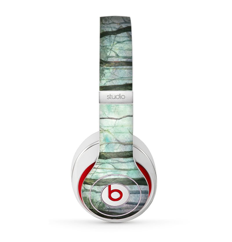 The Watercolor Glowing Sky Forrest Skin for the Beats by Dre Studio (2013+ Version) Headphones