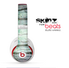 The Watercolor Glowing Sky Forrest Skin for the Beats by Dre Studio Wireless Headphones